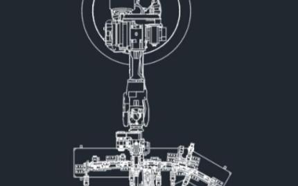 机器人工作站二维Layout视图输出
