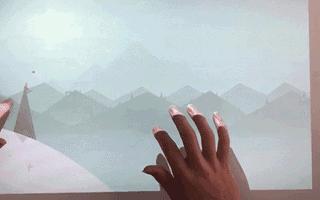 puppy cube觸控投影讓桌面秒變23吋十點觸控屏