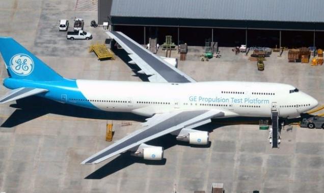 波音777X的發動機GE9X已在波音747飛機上完成了試飛試驗