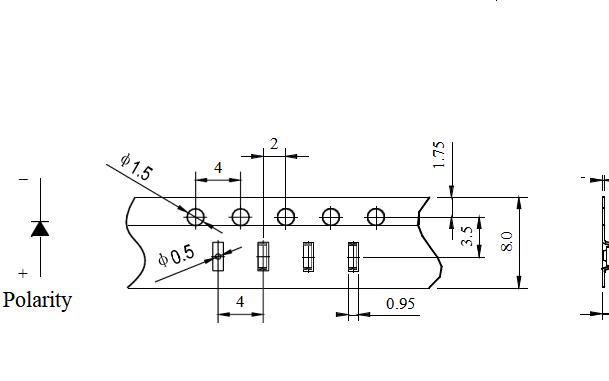 SMD0805橙光普亮贴片LED灯珠的数据手册免费下载