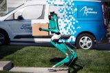 """福特解决""""无人送货""""最后一公里难题,机器人送货上门!"""