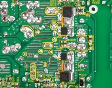 PCB板沉铜前的处理步骤及孔壁镀层的空洞产生的原...