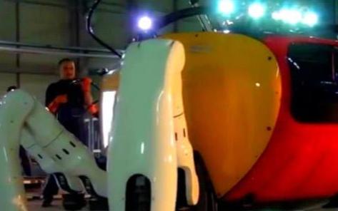 世界上最大的水下行走机器人 拥有6条腿外形像一只螃蟹