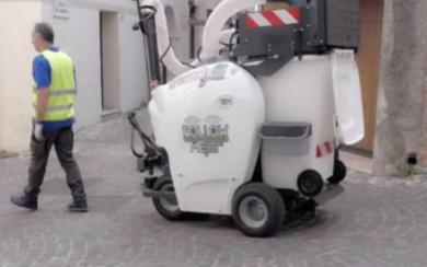 自動駕駛清潔車 自動進行垃圾收集處理
