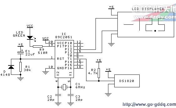 八段式四位LCD显示器的驱动设计
