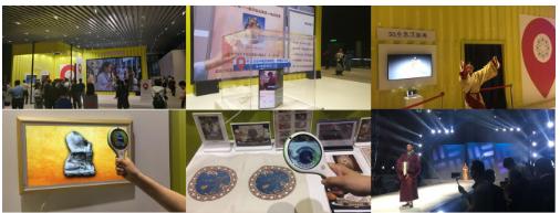 湖南移动携手华为通过5G网络举办了博物馆之夜活动