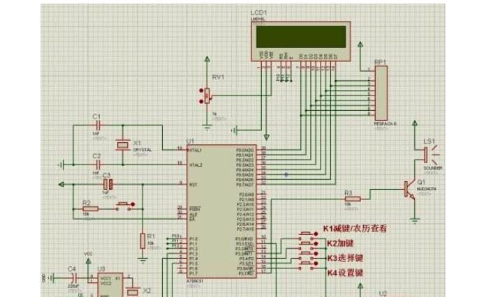 使用C51单片机和Proteus仿真设计自动打铃器的应用实例资料说明