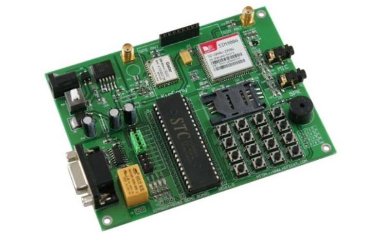 SIM900C短信继电器控制板的PcbDoc原理图资料免费下载