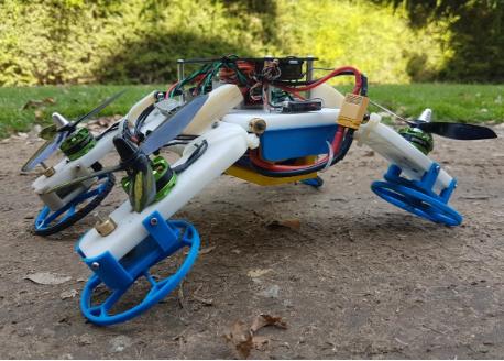 机器人不仅能跑还能飞 其实要做到很简单