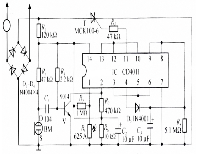 声光开关操你啦影院板元器件组成,声光控开关套件焊接教程