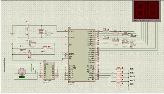 AT89C52单片机BH1415F调频台的控制设计