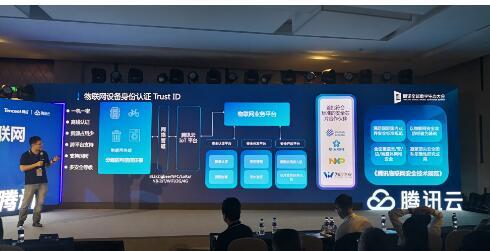 腾讯云携手华大电子率先发布了物联网设备身份认证IoT TID服务