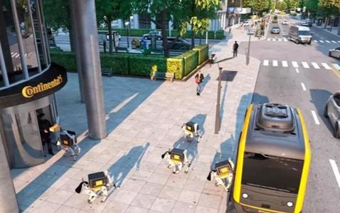 加入交付機器人熱潮 福特欲攻克無人送貨難題