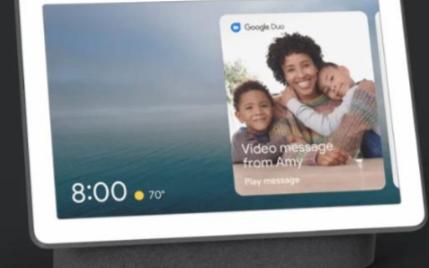 谷歌发布Nest Hub Max 搭载10寸触摸屏与摄像头