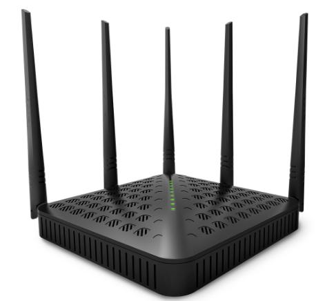 1200M四天线双频路由器介绍 让大家能无忧上网
