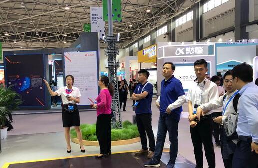 中国铁塔亮相数博会面向5G深化资源共享展示了共享发展之路