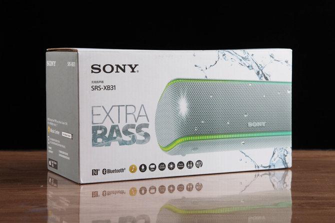 索尼蓝牙音箱SRS-XB31体验 音质到底怎么样