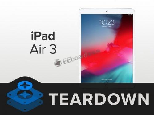 iPadAir3拆解 做工怎么样