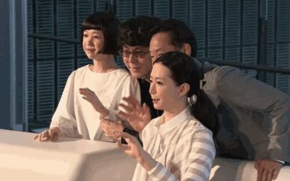 日本最新美女机器人 不仅逼真还能自动排水