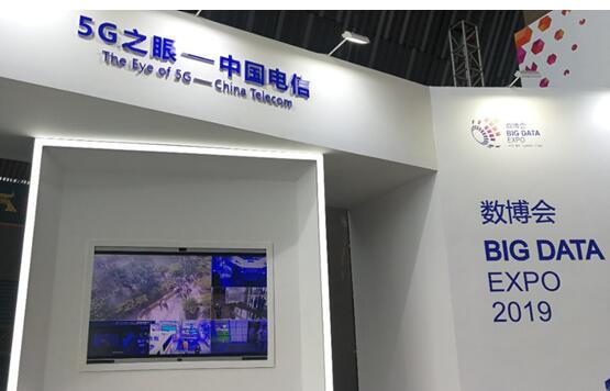 中国电信Hello 5G展馆全面展现了5G时代的...