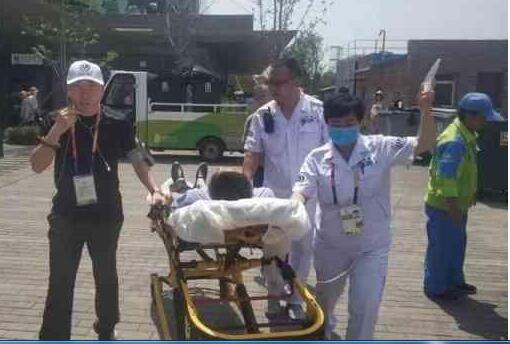北京世园会医疗体系首次利用5G技术实现了院前救治...