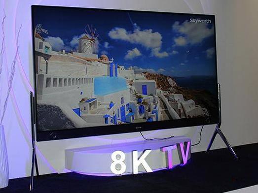 国内知名电视品牌踊跃发布8K产品 8K电视大战一...