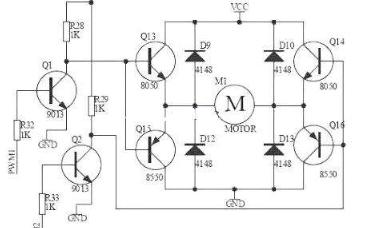 讲解马达的驱动电路