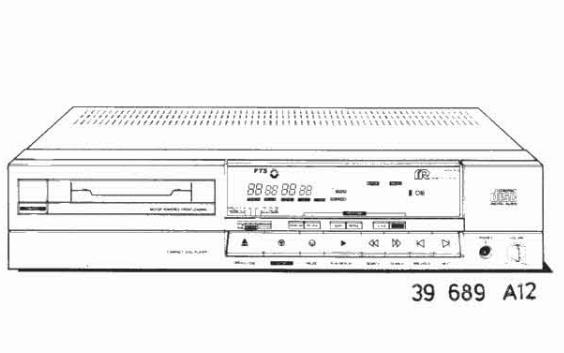 飞利浦CD播放机CD650维修资料免费下载