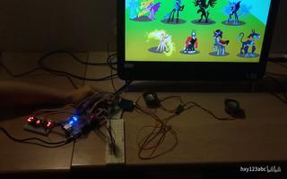 利用FPGA和SDK设计的打地鼠游戏