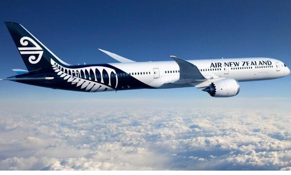 新西兰航空计划将波音787梦想飞机的最大机型添加至其世界级机队中去