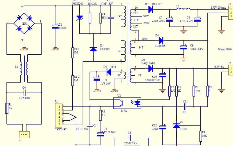 開關電源電感電路的分析和總結