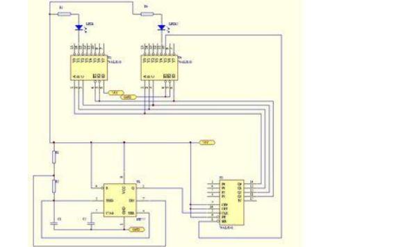 流水灯控制上下位机的程序源代码免费下载