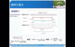 正点原子FPGA之等精度频率计实验:频率计计算