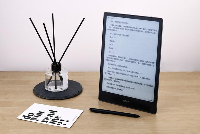 BOOXNote+电纸书体验 比较平板兼具了舒坦阅读长效续航的电纸书优势