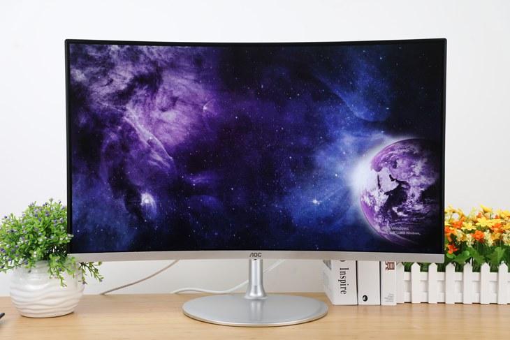 AOCC32V1QDS曲面顯示器評測 無疑于是一款注重視覺體驗的高品質顯示器