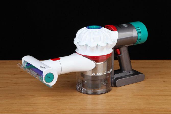 戴森V7Mattress手持式除螨吸塵器體驗 強勁的吸力與獨特的氣旋設計黑科技