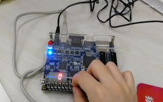 FPGA入门实验:七段LED显示译码器