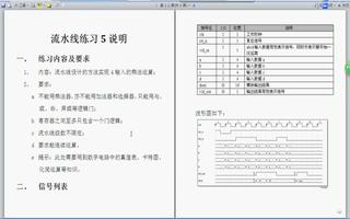 FPGA之流水线练习5:实现4输入的乘法运算