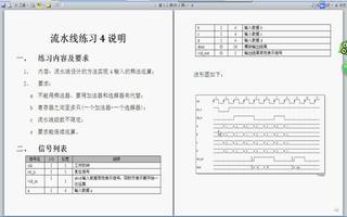FPGA之流水线练习4:实现4输入的乘法运算