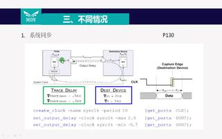 时序约束步骤:系统同步与源同步