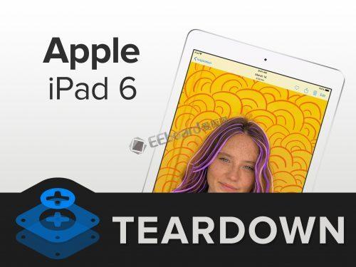 第六代iPad拆解 做工怎么样