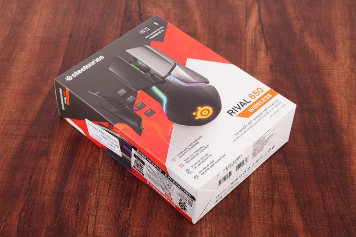 赛睿RIVAL650无线游戏鼠标评测 一次非常成功的蜕变