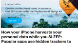 美媒在苹果手机中发现大量追踪程序,可能在人睡觉时泄露隐私