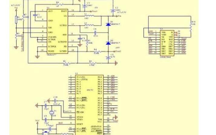 4.3寸通用24位RGBLCD的8051单片机控制的应用程序和工程文件免费下载