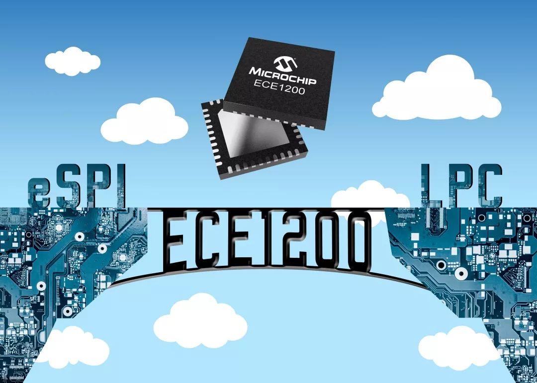 Microchip推出业界首款商用eSPI至LPC桥接器