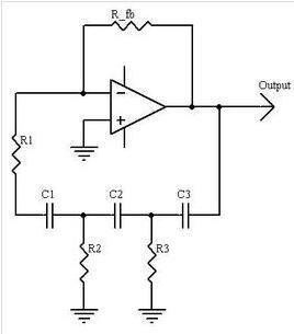 一阶有源相移振荡器电路图分享
