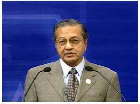 马来西亚总理马哈蒂尔表示华为的技术比美国技术要先...