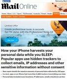 美媒:你的iPhone是怎样在你熟睡时窃取的个人数据的