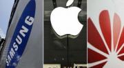 Gartner: 2019年第一季度手机出货量 华为第二苹果第三