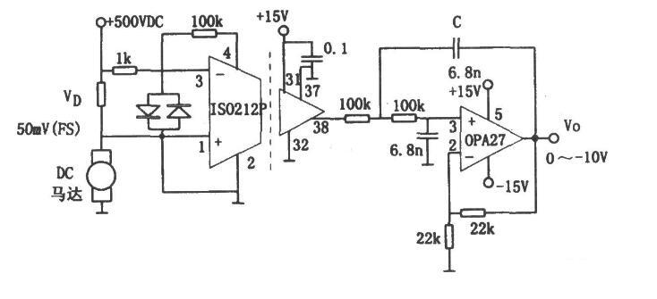用于检测高电压隔离的实用电路图